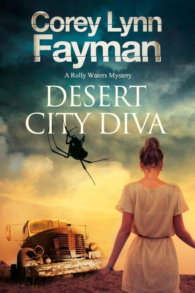 Book Cover - Desert City Diva