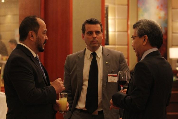 Senator Tobias Enverga Jr, Corey Wood MB, Mr. Jiao