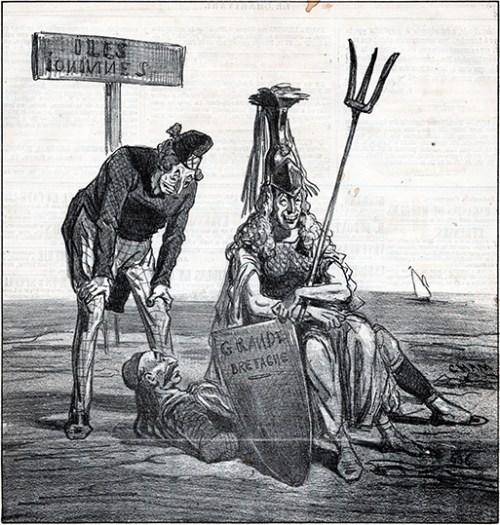 Cham - Le Charivari – News 592, c. 1865