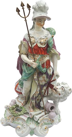 Derby Figurine of Britannia
