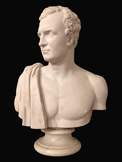 Bust of Sir Frederick Adam