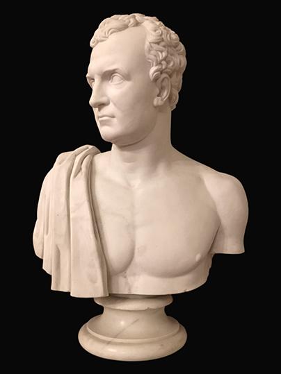 Bust of Sir Frederick Adam