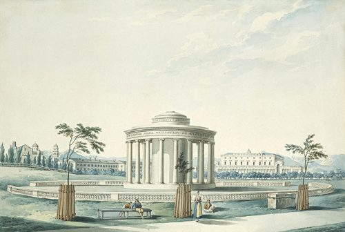 Joseph Cartwright - View of the Esplanade with the Maitland Memorial