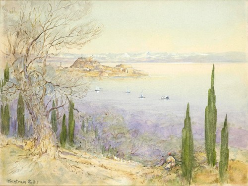 Tristram Ellis - View of the Old Fortress from the Ascension Village