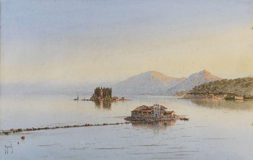 Spyridon Scarvelli - Vlacherna and Pontikonisi, Corfu