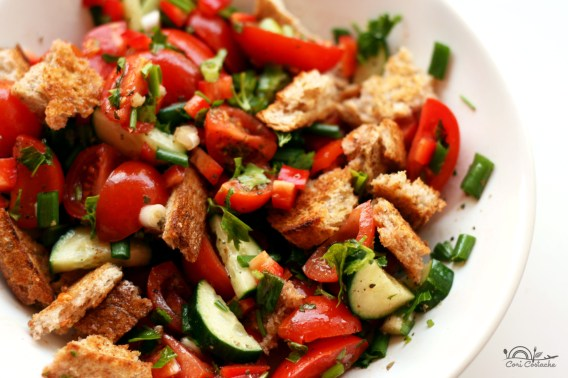 panzanella - salata toscana