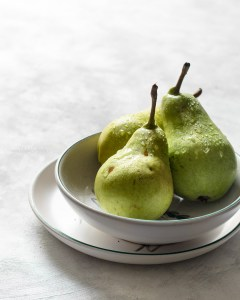 pears food photography