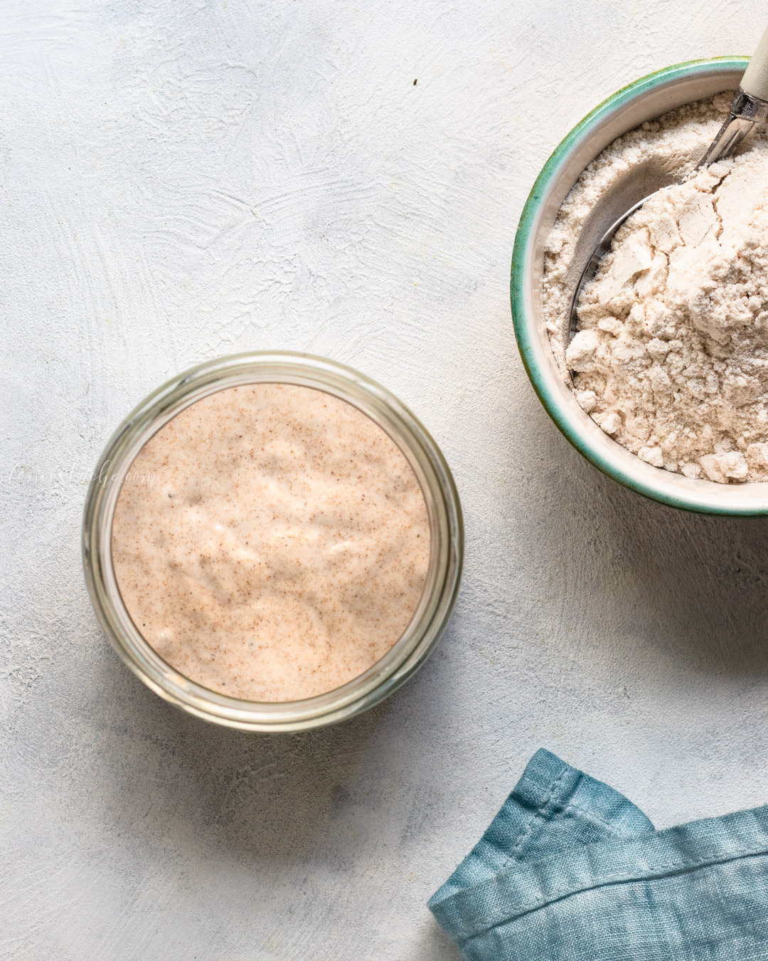 How To Grow Sourdough Starter from Scratch