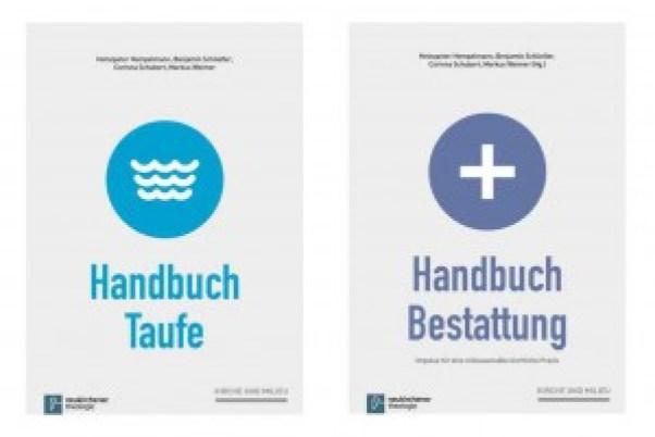 Handbuch Taufe und Handbuch Bestattung