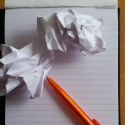 Help, ik heb een writersblock!