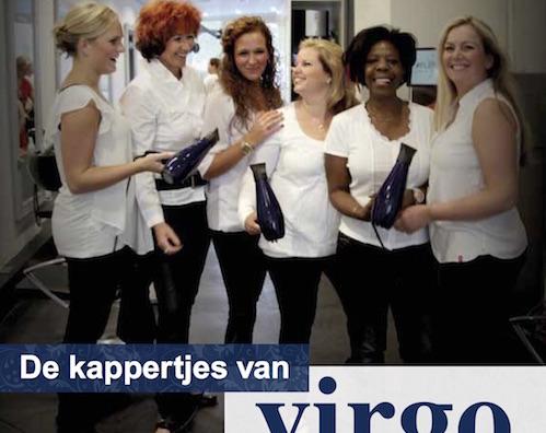 Jubileumboekje Virgo Kappersteam