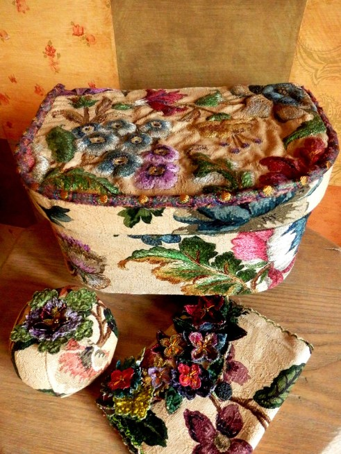 Sewing Box, Needlecase and Pincushion - Loves, Lives and Loss
