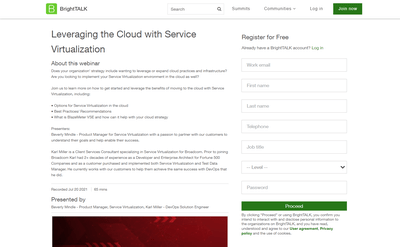 Leveraging the Cloud with Service Virtualization