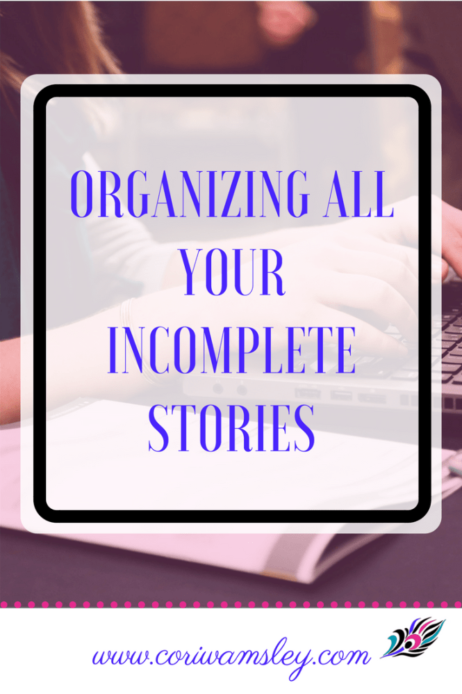 All Your Incomplete Stories