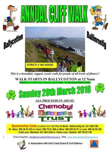 Ballycotton Cliff Walk 2016