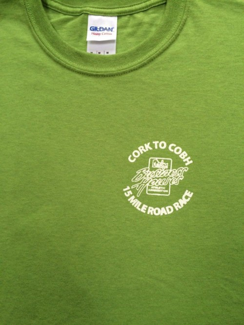Cork to Cobh 2015 t-shirt