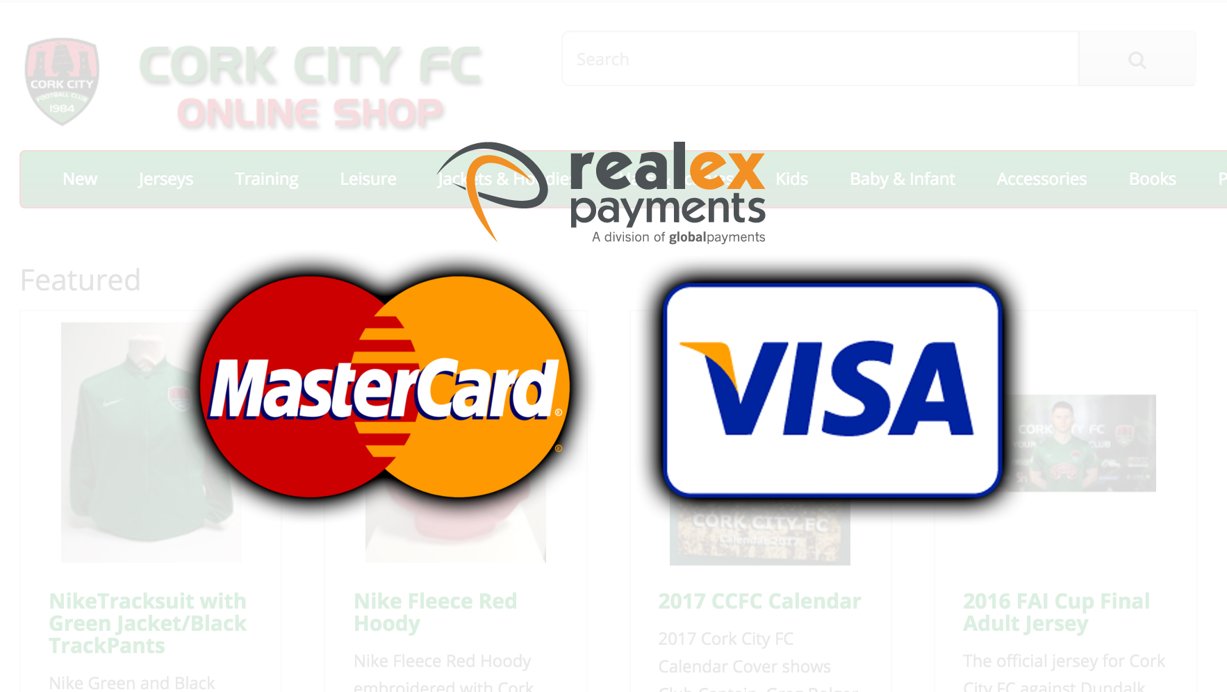 Online Store Now Accepts Direct Card Payments