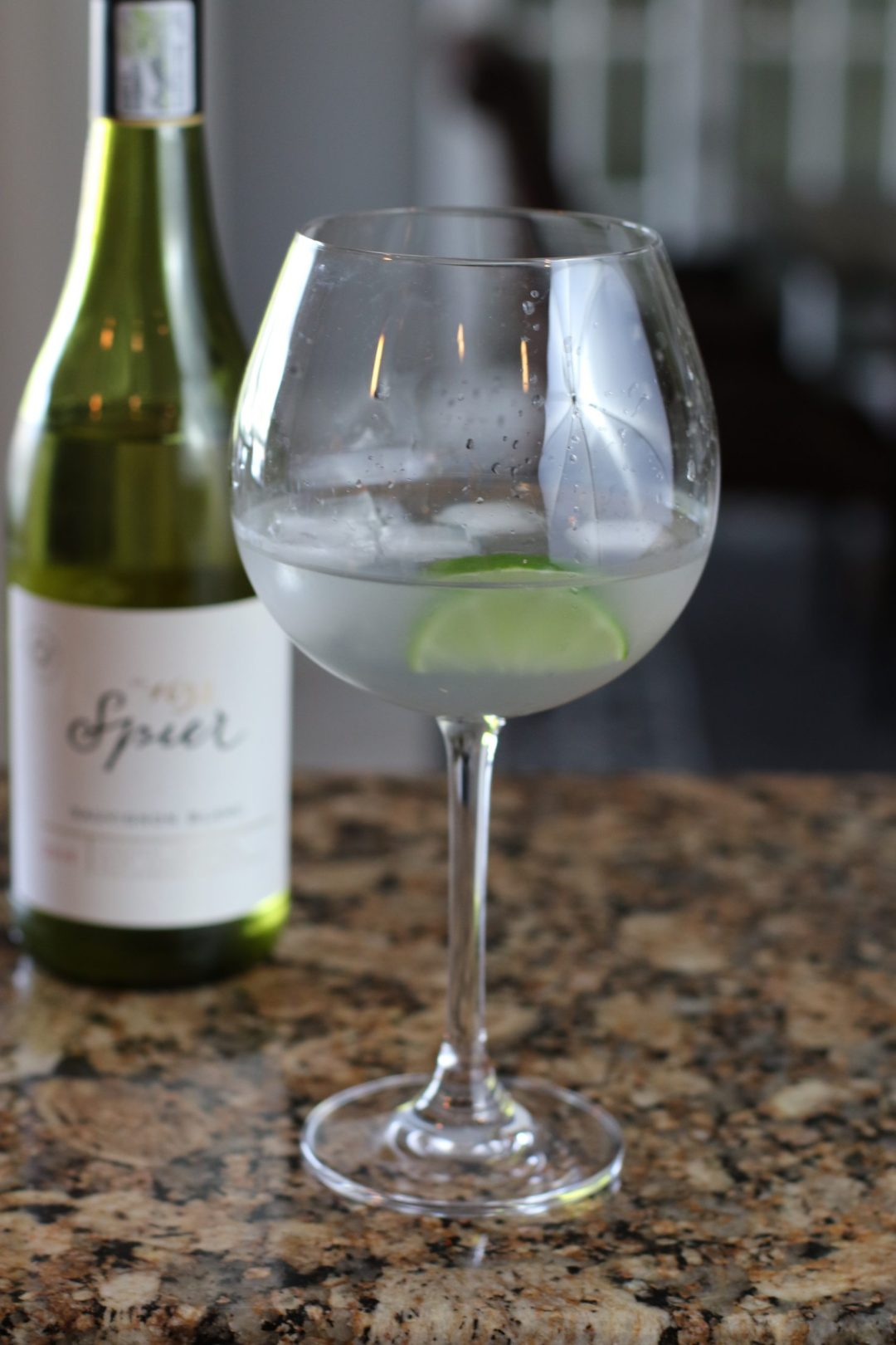 Violet Wine Spritzer