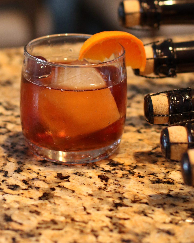 Craft Cocktails Black Manhattan