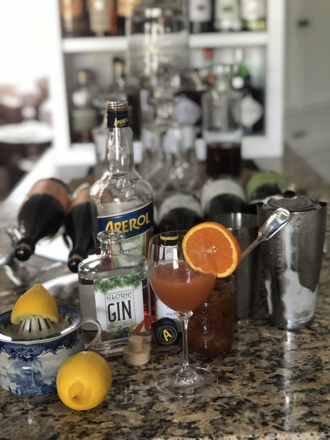 Gin Marmalade Cocktail