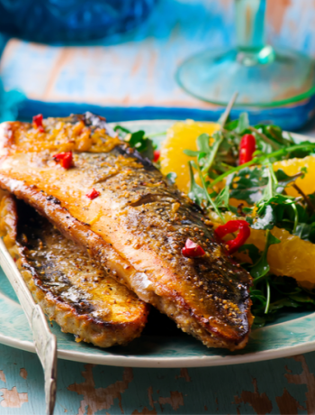 Grilled Mackerel with Sumac