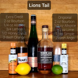 Lions Tail