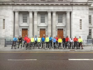 Sunday Cycle Group outside club house :-)
