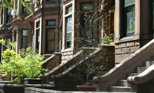 Brownstone Row Houses below Market Value through Short Sales