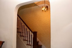 arched entry from living room