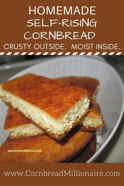 Homemade Self-Rising Cornbread