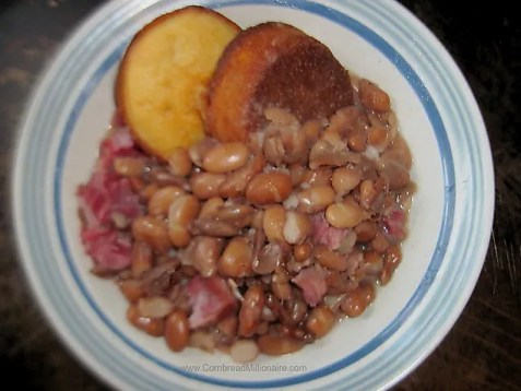 Southern Pinto Beans Cornbread Millionaire