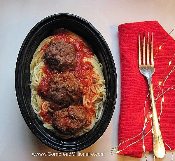 Homemade Meatballs 1