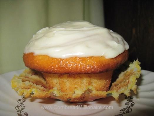 Cream Cheese Pound Cake Cupcake