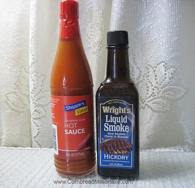 Hot Sauce and Liquid Smoke