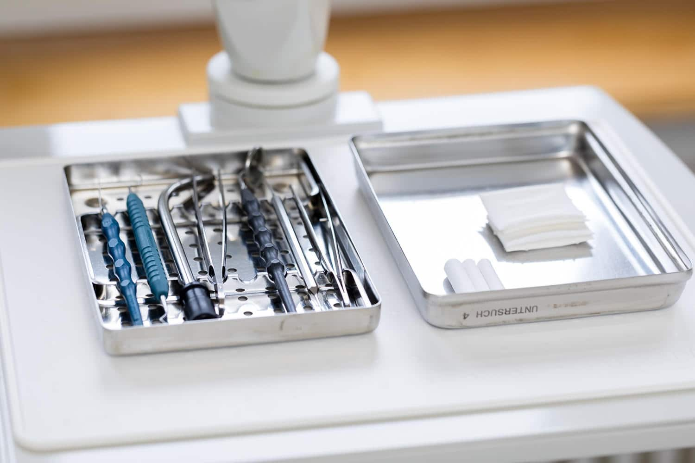 Zahnarzt Aarau Instrumente