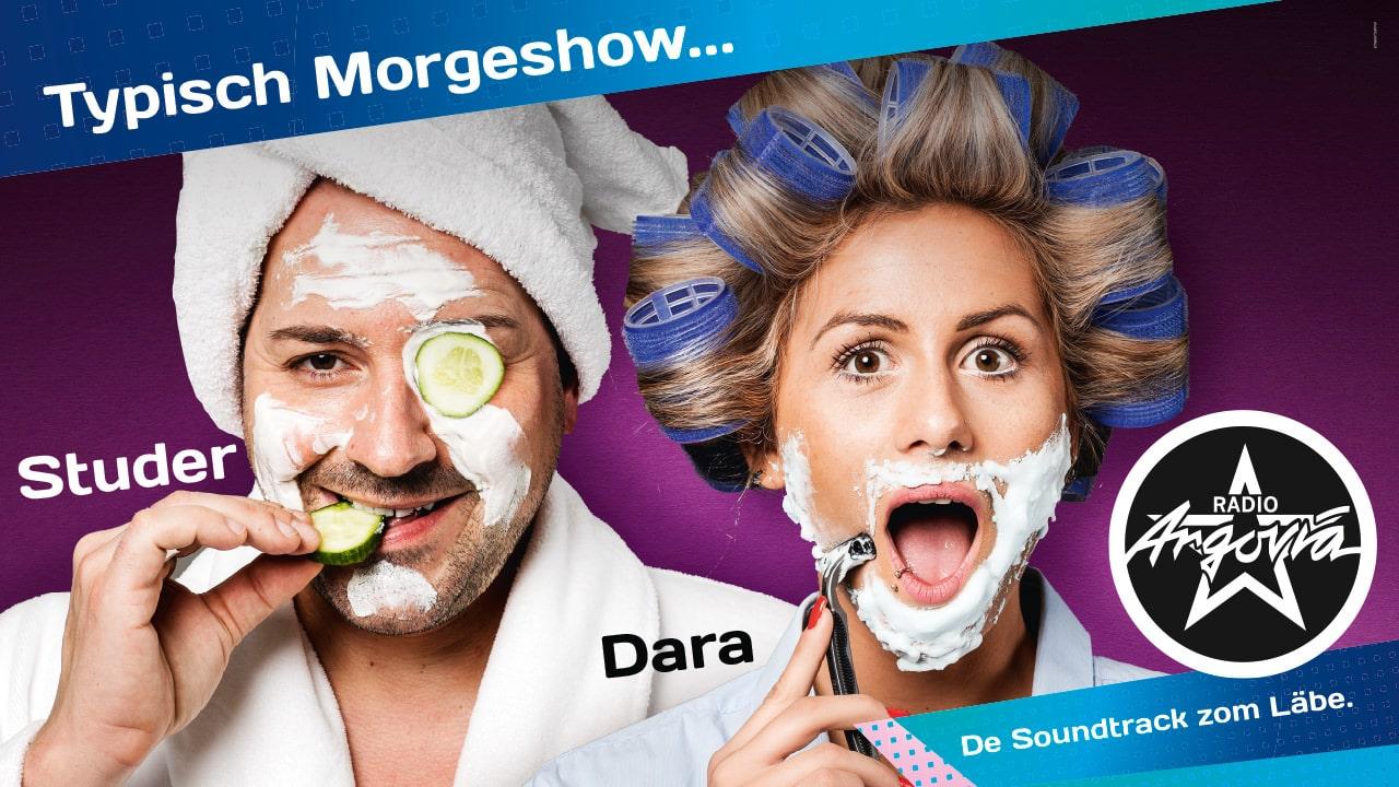 Moderatoren Radio Argovia Morgeshow