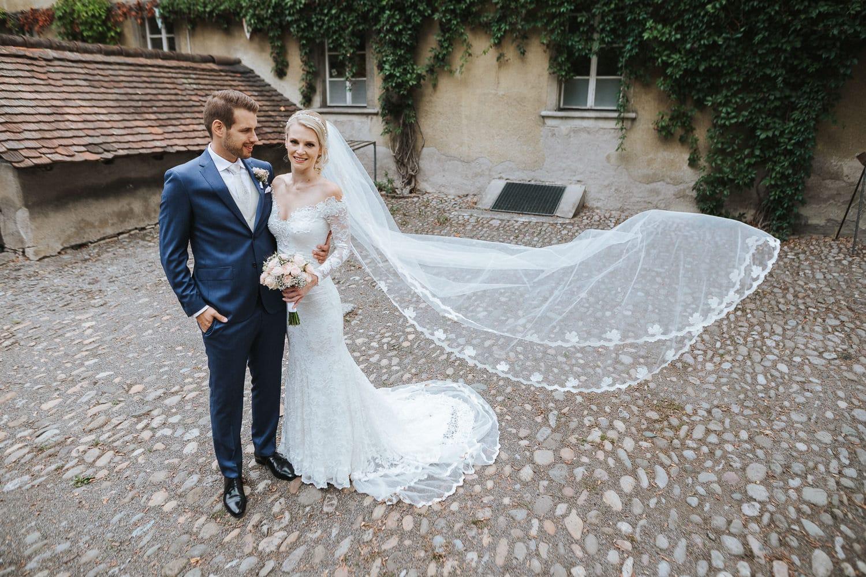 Hochzeit Paarshooting Königsfelden Park