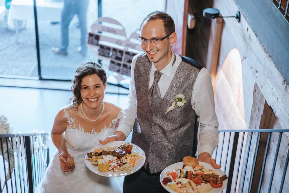 Menu Buffet Hochzeit