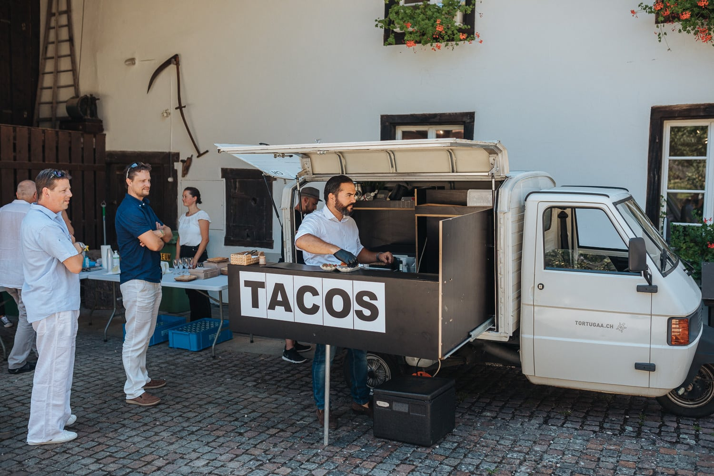 Corona Hochzeit Obersiggenthal Tacos
