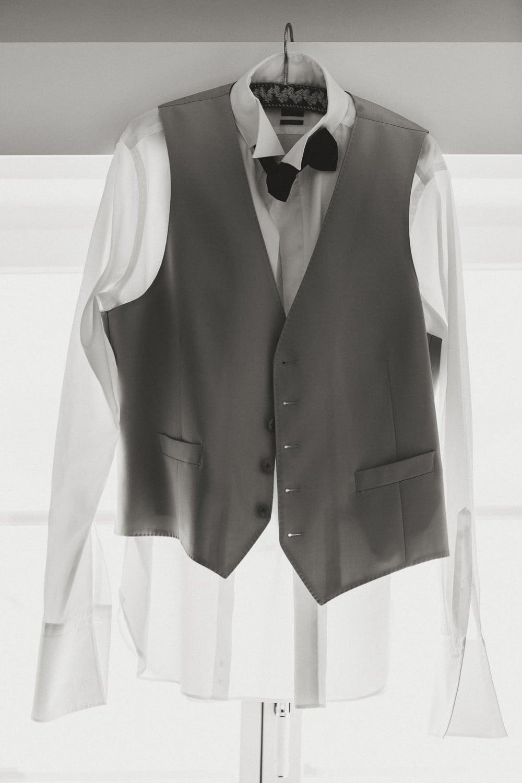 Hochzeit Ankleiden Anzug Getting ready