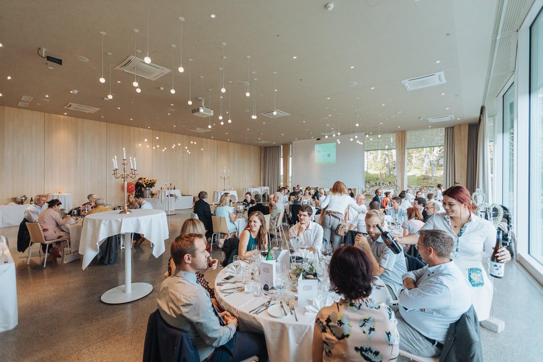 Saal Hochzeit Bankett