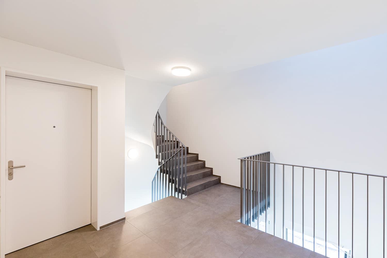 Neubau Treppe Innenansicht Berikon