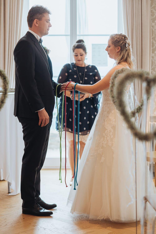 Brautpaar Trauung Zeremonie Ritual
