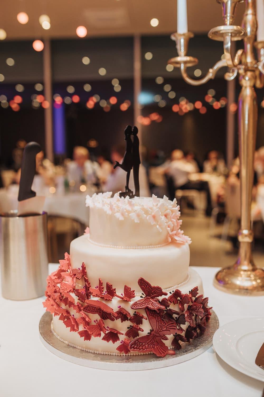 Torte Hochzeit Detail Topper