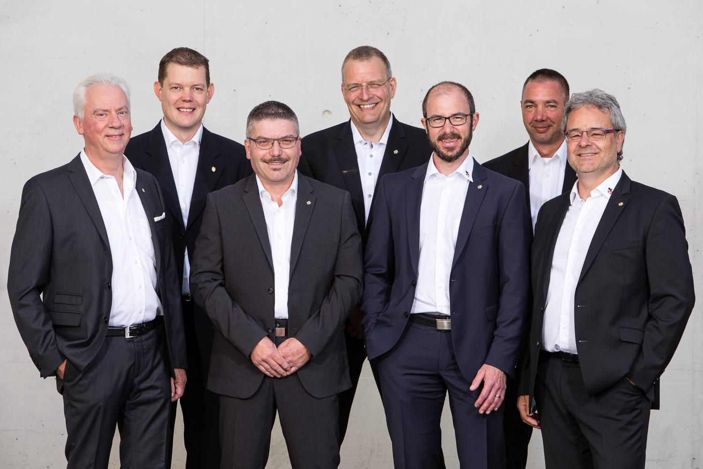 Corporate Porträt Gruppenbild