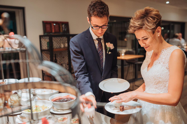 Dessert Hochzeit Brautpaar