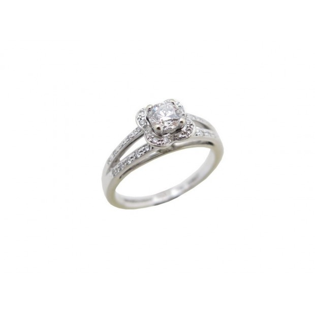 bague mauboussin chance of love numero 3 t53 diamant BAGUE MAUBOUSSIN CHANCE OF LOVE NUMERO 3 OR BLANC   DIAMANTS