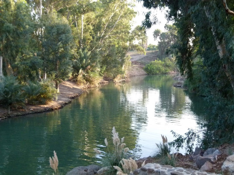 Across Jordan River Joshua