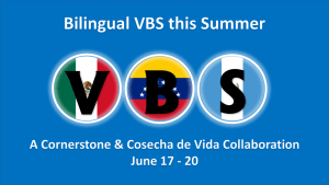 Now Accepting Volunteers for VBS June 17-20