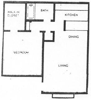 1 Bed / 1 Bath / 660 sq ft / Deposit: $500 / Rent: $1,125